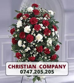 Aranjamente florale funerare Galati